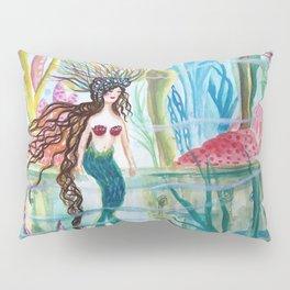 Underwater Garden Pillow Sham
