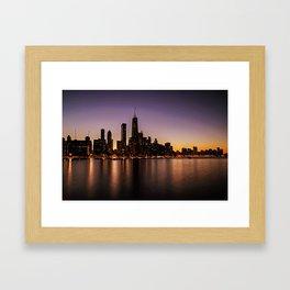 Chicago Skyline - new! Framed Art Print