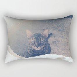 wake up, human Rectangular Pillow