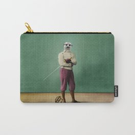 Milton Meerkat: Fencing Master Carry-All Pouch