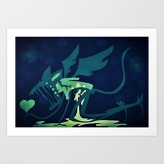 The Importance Of Heart Art Print