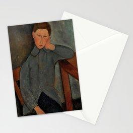 "Amedeo Modigliani ""The Boy"" Stationery Cards"