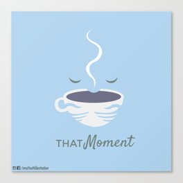 That moment Canvas Print