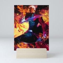 Neon Archer Emiya Mini Art Print