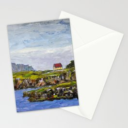 a cove in trinity, NL Stationery Cards