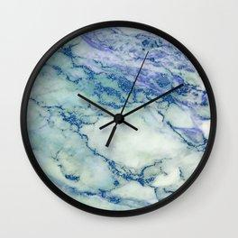 marble blue sea Wall Clock
