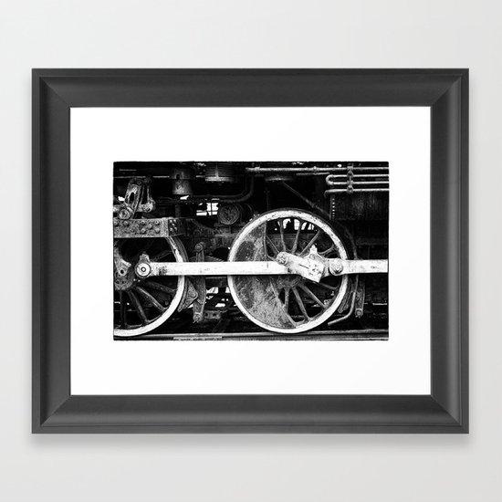 Little Engine that Did Framed Art Print
