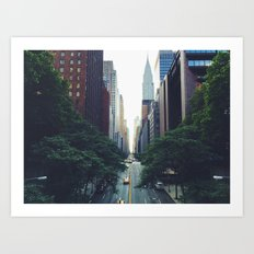 Morning in the Empire Art Print