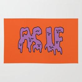 As If Slime -- Orange Rug