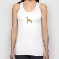 greyhound Tank Tops featuring Italian Greyhound by 52 Dogs