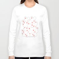 martell Long Sleeve T-shirts featuring Bunny Invasion  by G Martell