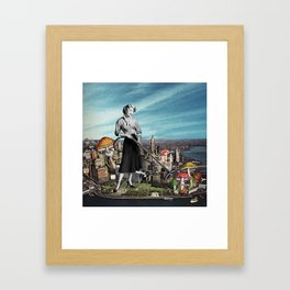 Spore Collector Framed Art Print