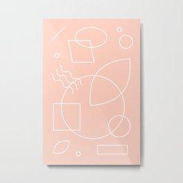 Discotropic Metal Print