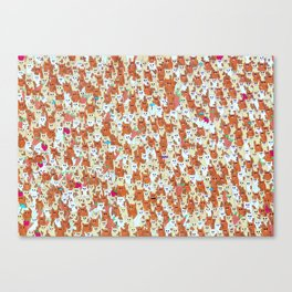 Hamster mash Canvas Print