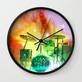 Jam Wit It Wall Clock