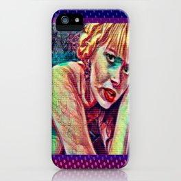 Morte Di Tachygraphy iPhone Case