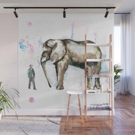 Jumbo elephant Wall Mural