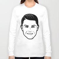 ronaldo Long Sleeve T-shirts featuring ronaldo by b & c