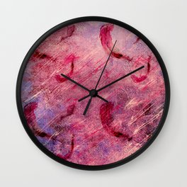 boho shic pattern Wall Clock