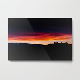 Alabama Hills Sunrise Metal Print