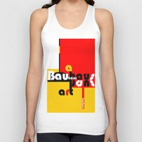 bauhaus Tank Tops featuring Bauhaus Lamp by Simona Susnea