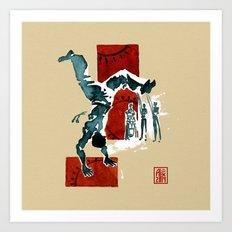 Capoeira 554 Art Print
