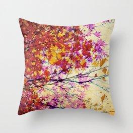 Autumn 5 Throw Pillow