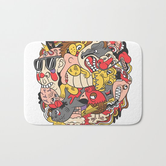 February Brain Dump Bath Mat