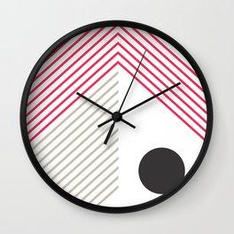Abstract Composition 02  #society6 #decor #buyart Wall Clock