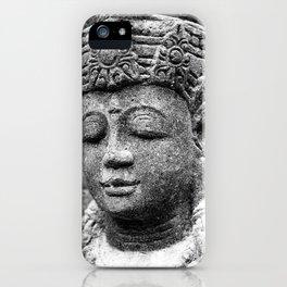 Buddha BW iPhone Case
