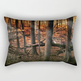 Sky Fire - surreal landscape photography Rectangular Pillow