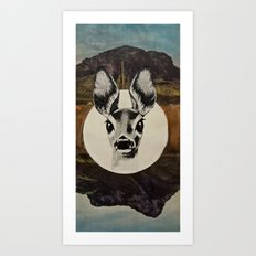 Desert Eyes Art Print