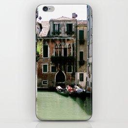 Water Filled Alleyway  iPhone Skin