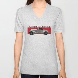 American Auburn Unisex V-Neck