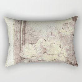 Flowers in the water Rectangular Pillow