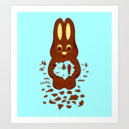 Chocolate Hunting Art Print