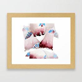 Raccons Framed Art Print