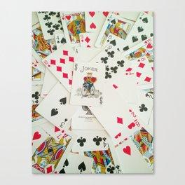Cards Canvas Print