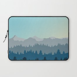 Face This Mountain (No Text) Laptop Sleeve