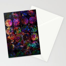 Looking through Space Stationery Cards