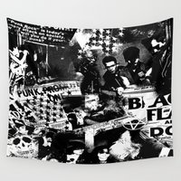 steam punk Wall Tapestries featuring Punk by HEADBANGPARTY