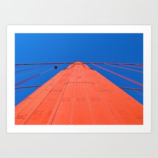 Golden Gate Bridge -- San Francisco Art Print