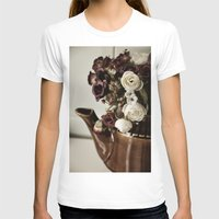 vintage flowers T-shirts featuring Vintage flowers by EleonoraVasco