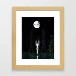 Draw Down Framed Art Print