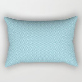 Blue texture pattern Rectangular Pillow