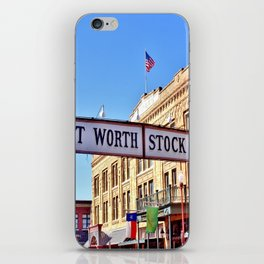 Fort Worth Stock Yards iPhone Skin
