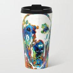 Labrador Retriever Art - Play With Me - By Sharon Cummings Travel Mug