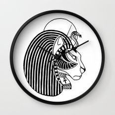 Tefnut Egyptian Goddess Wall Clock