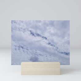 Blue Crawler Mini Art Print