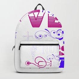 Nursing In My Veins Jesus In My Heart - Nurse Design Backpack